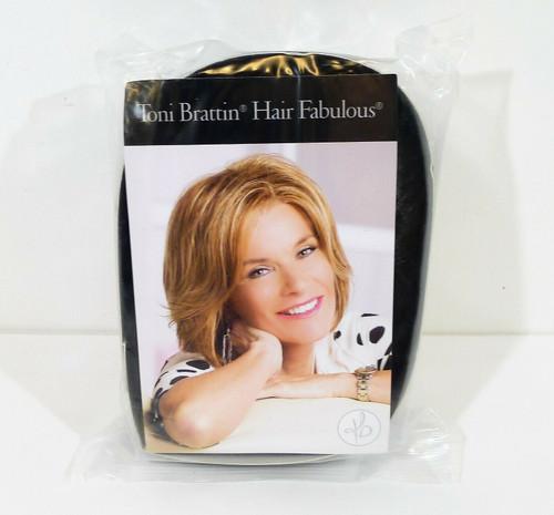 Toni Brattin Hair Fabulous 513 Total Topper Dark Brown Synthetic