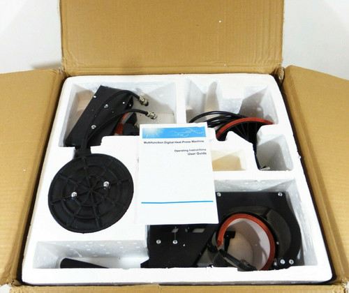 """Weanas 5-in-1 Combo Heat Press 12""""x 15""""   LOCAL PICKUP ONLY, AUSTIN TX"""