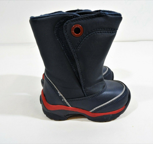 Lands End Toddlers Navy Blue Snow Boots Size 6M Style 434567