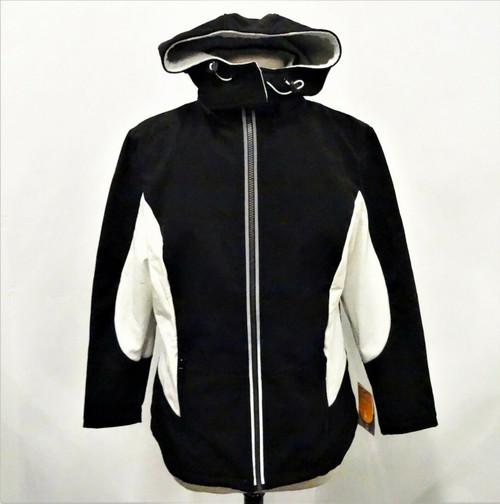 Sporto Women's Black & White Light Ski Jacket New With Tags Size Small