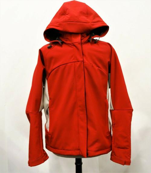 Salomon Red & Beige Men's Ski / Snowboard Jacket Liner & Hood Size Large