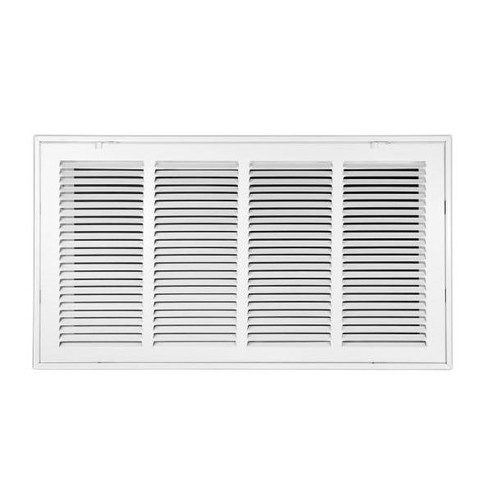 "Set of 5 Venti Air 24"" x 12""  Return Air Filter Grills in White - NEW SEALED"