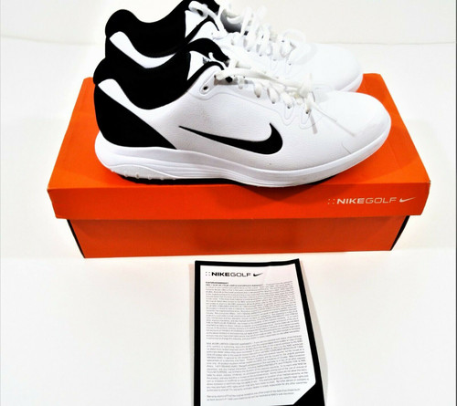 Nike Infinity G Men's White & Black Golf Shoes Size 9.5 *OPEN BOX*