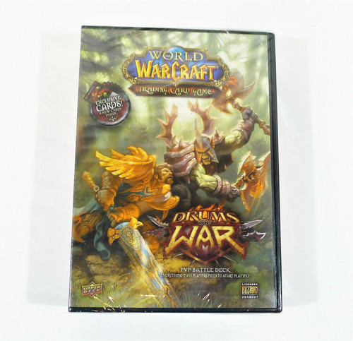 World Of Warcraft Trading Card Game Drums Of War Battle Deck (2008) **NEW SEALED