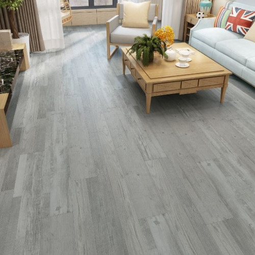 SPC Grey Barnwood Rigid Core 12mm Flooring