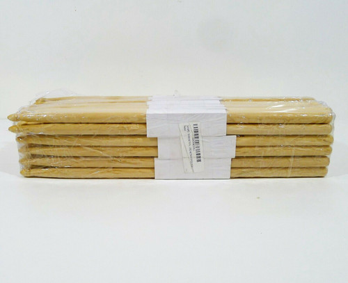 24 Pairs 7A Wood TIP Natural Maple Drumsticks PRO 48 Drum Sticks - NEW