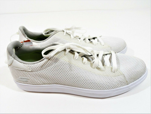 Sketchers Goga Max Men's White Sneakers Athletic Shoes Size 10 New With Tags