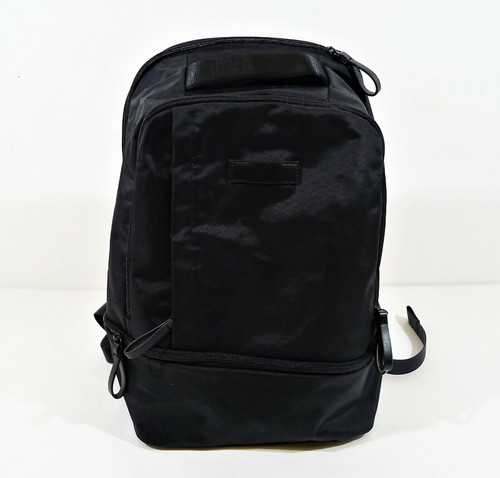 West Elm Black Backpack with Drop Bottom - NEW WITHOUT TAGS