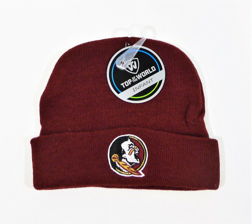 Top of the World Hat Infant Florida State Seminoles Beanie Hat - NEW WITH TAGS