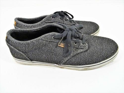 Vans Women's Gray Tweed Ultra Cush Sneakers Size 8.5 Style  721356