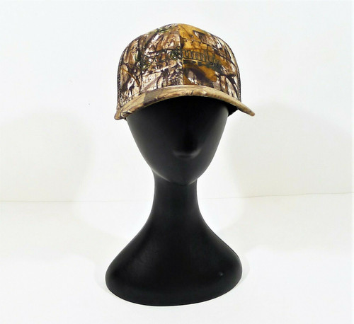 Columbia Camouflage Performance Hunting Gear Truckers Hat Size S/M - **SPOTS