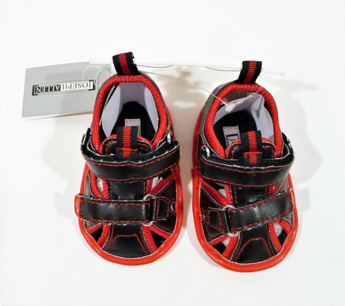 Joseph Allen Infant Boys Red/Black Sandals Size 2