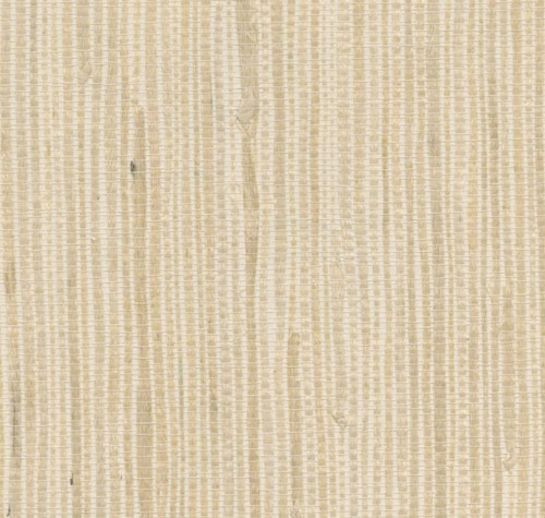 West Elm Kostya Cream Grasscloth Wallpaper 3' x 24' - NEW **ADHESIVE REQUIRED