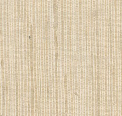 West Elm Kostya Cream Grasscloth Wallpaper 3' x 24' - NEW **ADHESIVE REQUIRED