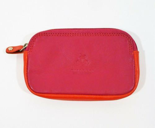 Visconti MultiColor Genuine Leather Purse Wallet Zip Coin Purse