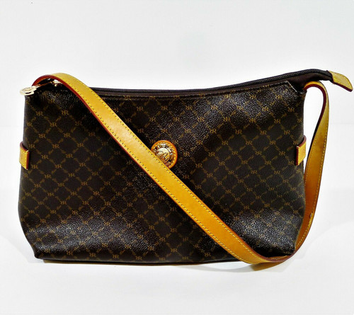 Rioni Brown Signature Shoulder Bag Purse - **SPOT / STAIN ON STRAP