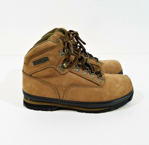 Iron Age Women's Sport Work Leather Steel Toe Work Boot Size 7.5 M *SCUFF ON TOE