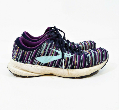 Brooks Women's Navy/Light Blue/Charisma Launch 6 Athletic Shoes Size 9