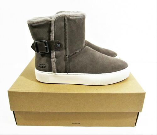 Ugg Women's Aika Beige Suede Sneaker Boots Size 9 *New in Box*