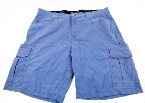 Eddie Bauer Men's Slate Blue Cargo Shorts Size 40