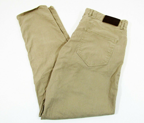Michael Kors Men's Parker Tan Slim Fit Khaki Pants Size 32 x 32
