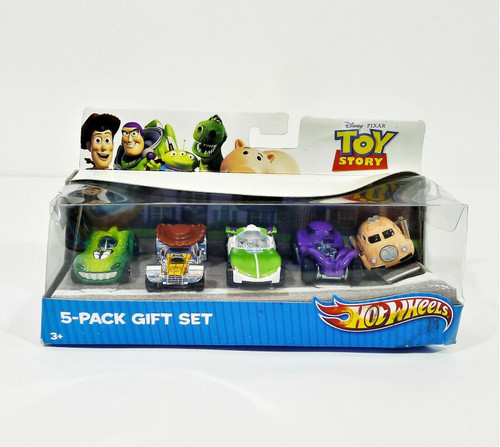 Hot Wheels Toy Story 5 Pack Gift Set (MATTEL 2010) V9977 - NEW **DAMAGED BOX