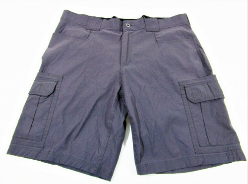 Eddie Bauer Men's Charcoal Gray Cargo Shorts Size 40