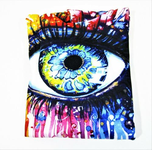 Newcosplay Women's Digital Printed Artisan Eye Hoodie Size