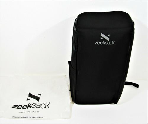 Zeeksack The Organizer Backpack In Black New in Original Package 30L