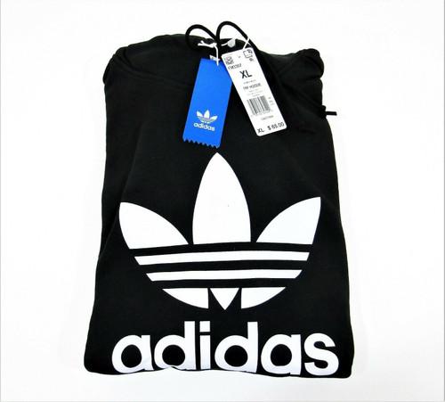 Adidas TRF Hoodie Sweatshirt Women's Black & White Size XL New With Tags