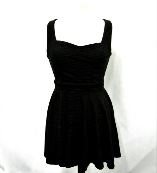 2b Bebe Women's Black Candace Short Sundress Size Extra Small *New With Tags*