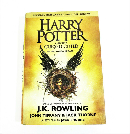 Harry Potter & The Cursed Child 1-2 Special Rehearsal Edition Script Hardcover