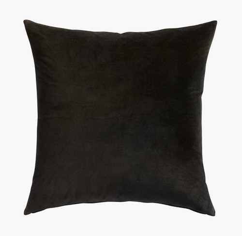 """CB2 Leisure Black Pillow Case Only 23"""" W x 23"""" H - NEW -**NO PILLOW INCLUDED"""