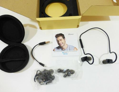 Diso MH816 Sport Sweat Resistant Wireless Bluetooth Earphone in Black  NEW