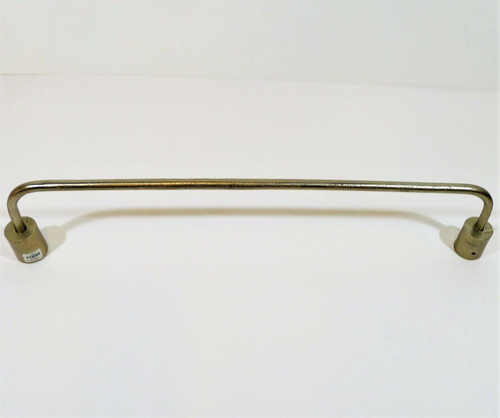 """CB2 Rough Cast Nickel Towel Bar 24"""" Only **NO HARDWARE"""