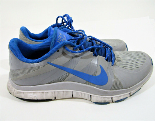 Nike Men's Blue Gray Free Trainer Style 511018 Athletic Shoes Size 11.5