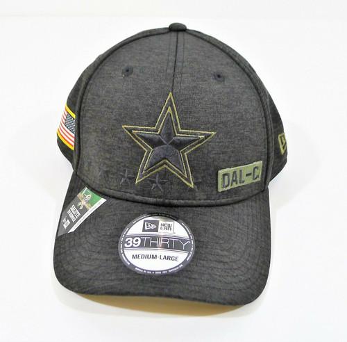New Era 39 Thirty Dallas Cowboys Salute to Service Medium/Large Flex Hat - NEW