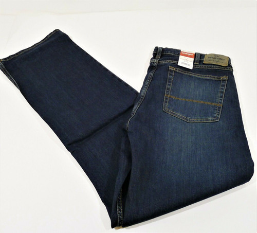 Wrangler Authentics Men's Relaxed Fit Boot Cut Blue Jeans Size36x34 New With Tag