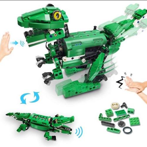 VERTOY Dinosaur Building Blocks - STEM Building Kit 6+ 450 Pieces - NEW SEALED