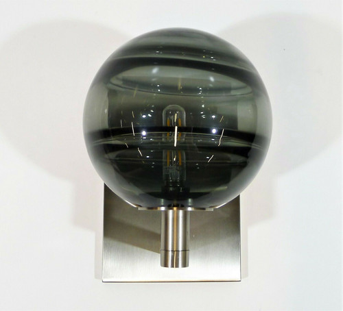 Tech Lighting Smoke/Satin Nickel Sedona Sconce Light **FLOOR MODEL
