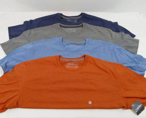 Set of 4 Eddie Bauer Men's Legendwash Pro SS Classic T-Shirts Size 2XL