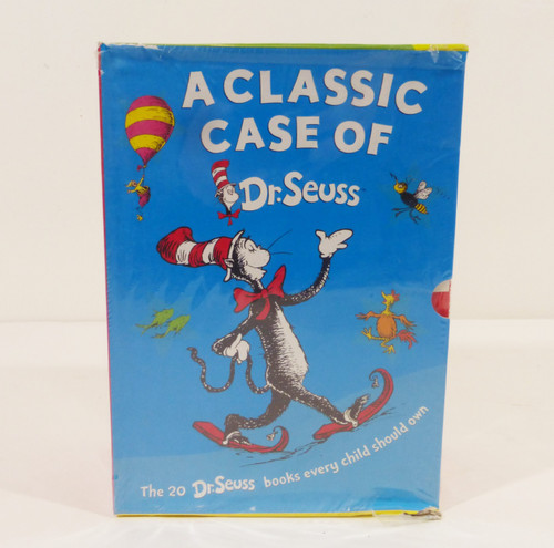 A Classic Case of Dr. Seuss 20-Book Box Set  NEW - DAMAGED BOX