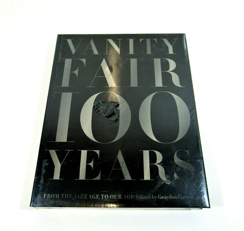 Vanity Fair 100 Years Large Hardcover Factory Sealed *Seal Has A Tear*