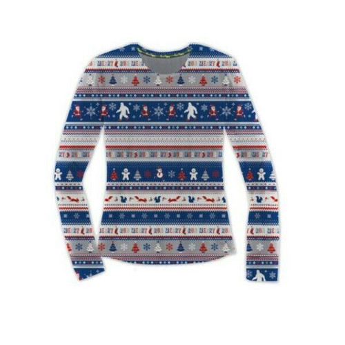 Brooks Run Merry Graphic Long Sleeve Women's Shirt NWT Size XXL