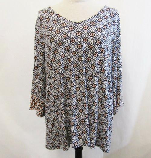 J Jill Lavishtile Women's Blouse New with Tags Size XL Petite