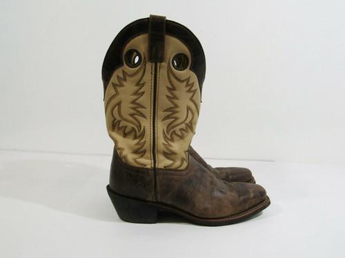 Laredo 68321 Men's Leather Western Boots Size 9