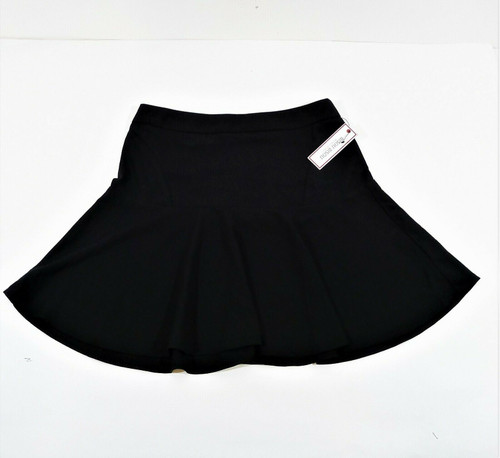 Bisou Bisou Black Fit and Flare Mini Skirt - NEW WITH TAGS