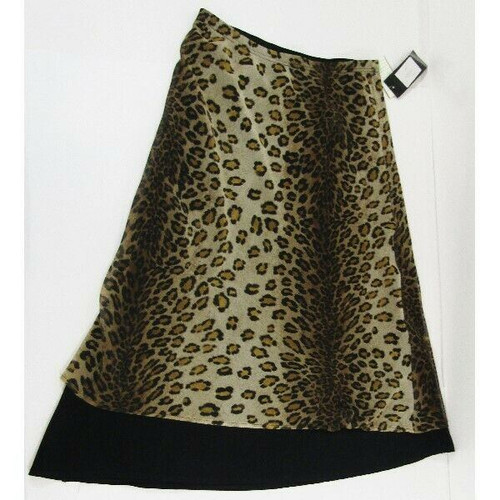 Dramatic Expressions Reversible Women's Skirt NWT Size 8