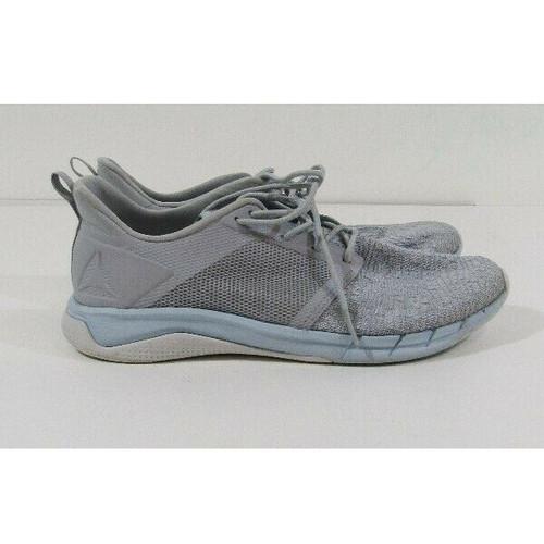 Reebok Women's Gray & Blue Running Shoes Size 9.5