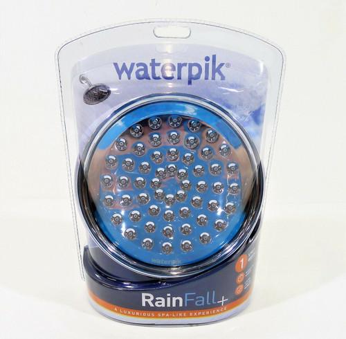 Waterpik Rain Fall + Showerhead Single Setting 1.8 gpm RSD-133E - NEW SEALED